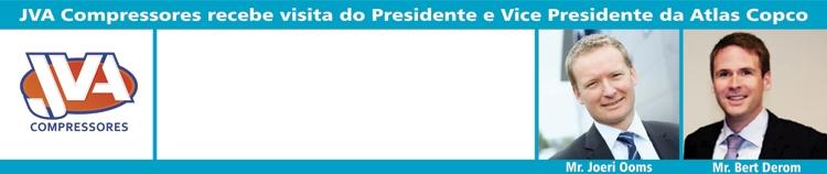 Presidente Atlas Copco JVA Compressores